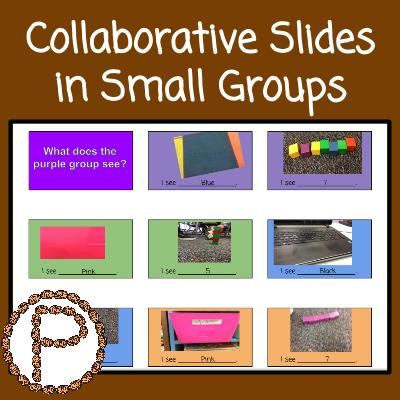 Collaborative Slides in Small Groups