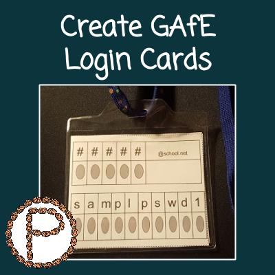 Create GAfE Badges (2)