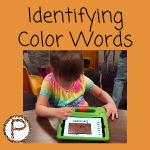 Identifying Color Words