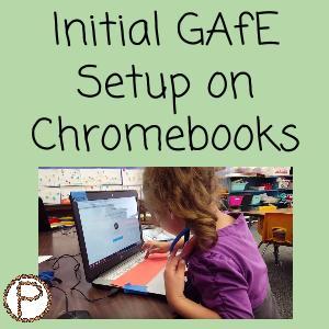 Initial GAFE Setup on Chromebooks