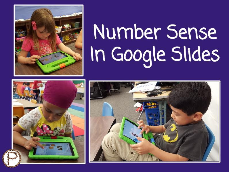 Shapes to Numerals on Slides