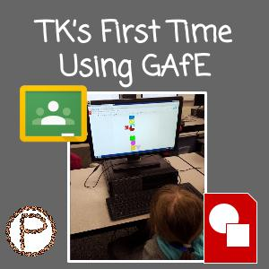 TK's First Time Using GAfE