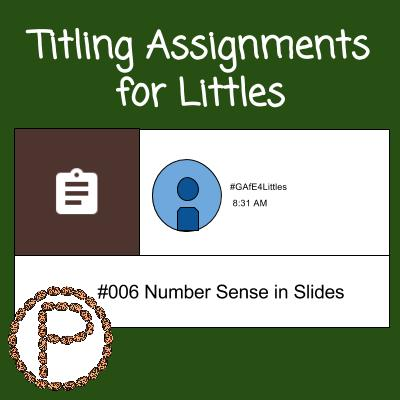 Titling Assingments for Littles