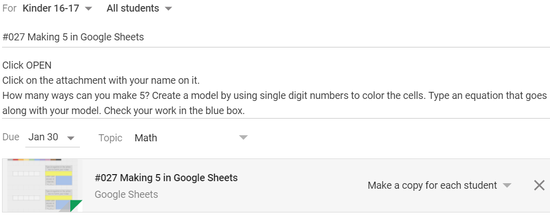 Models And Equations In Google Sheets Learning With Christine Pinto